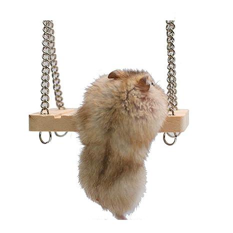 Hamster Toys, Linda Hamster pájaro Columpio Hamaca Colgante ...