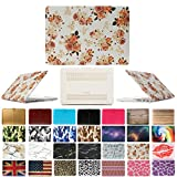 Coosbo - Fashion Matte Patterns Hard Case Cover for 13' 13.3' Apple Mac Macbook Pro with CD-ROM Accessories Gift ((Model:A1278 on the bottom of laptop), Floral)