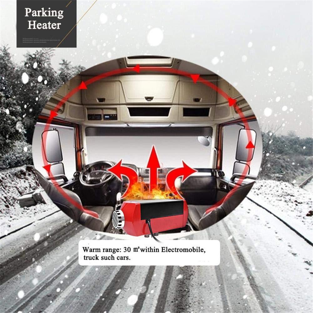 Ganmaov 12V//24V Parkplatz Diesel Lufterhitze 5KW Diesel Lufterhitzer Air Diesel Auto Heizung Luftheizung mit 10L Tank Remote Control LCD Monitor PKWs LKW Best Service Schalld/ämpfer f/ür Boote