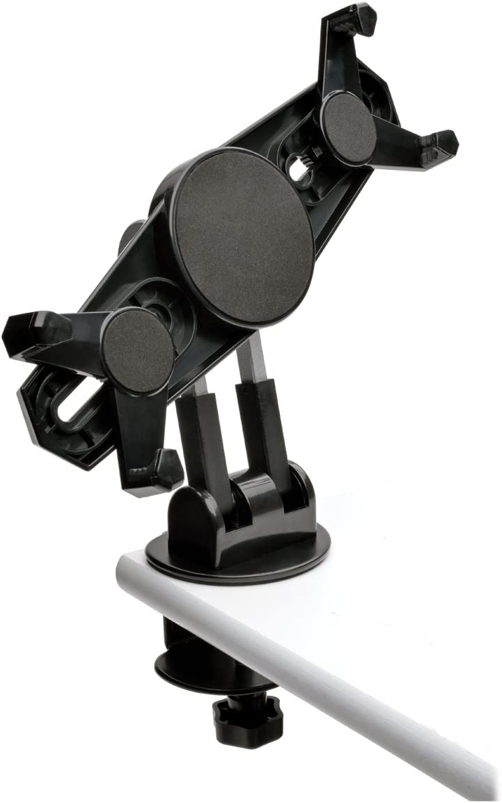TRIPP LITE Universal Desk Table Mount Clamp Holder Stand for 7 to 10 Tablets with Swivel DDR0710SC