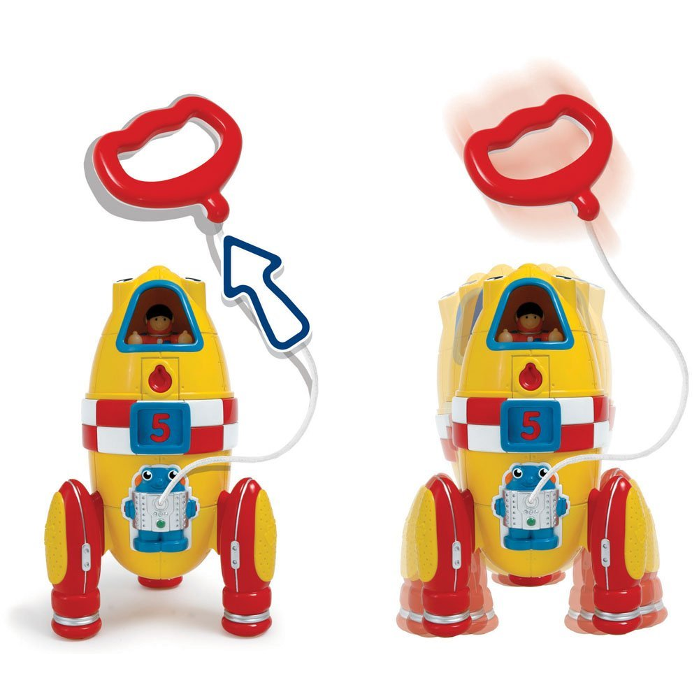 Wow Ronnie The Rocket (2 Piece Play Set) by WOW Toys (Image #5)