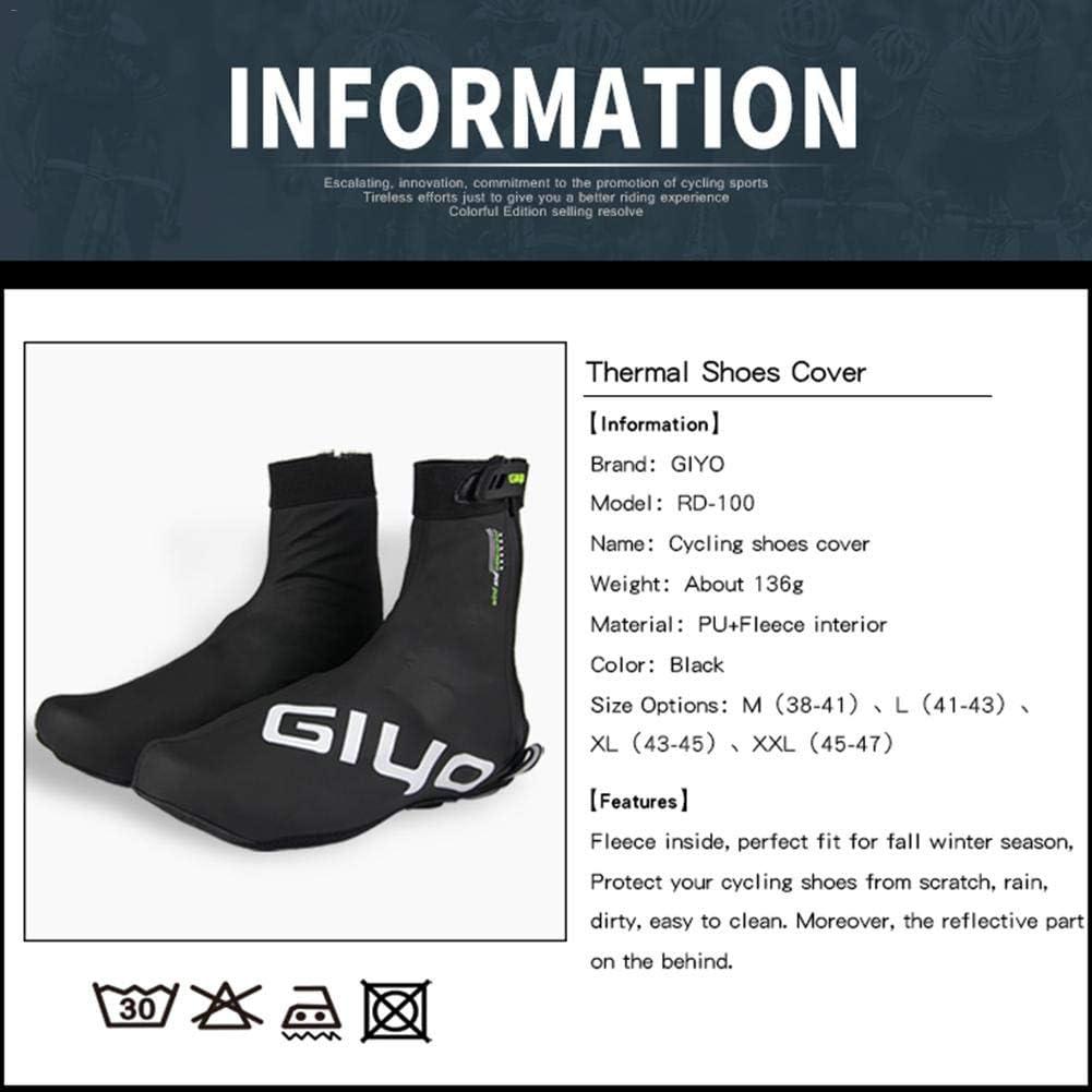 for Shoe Waterproof PU Thermal Bicycle GIYO Sleeve Overshoes Covers Shoe Outdoor