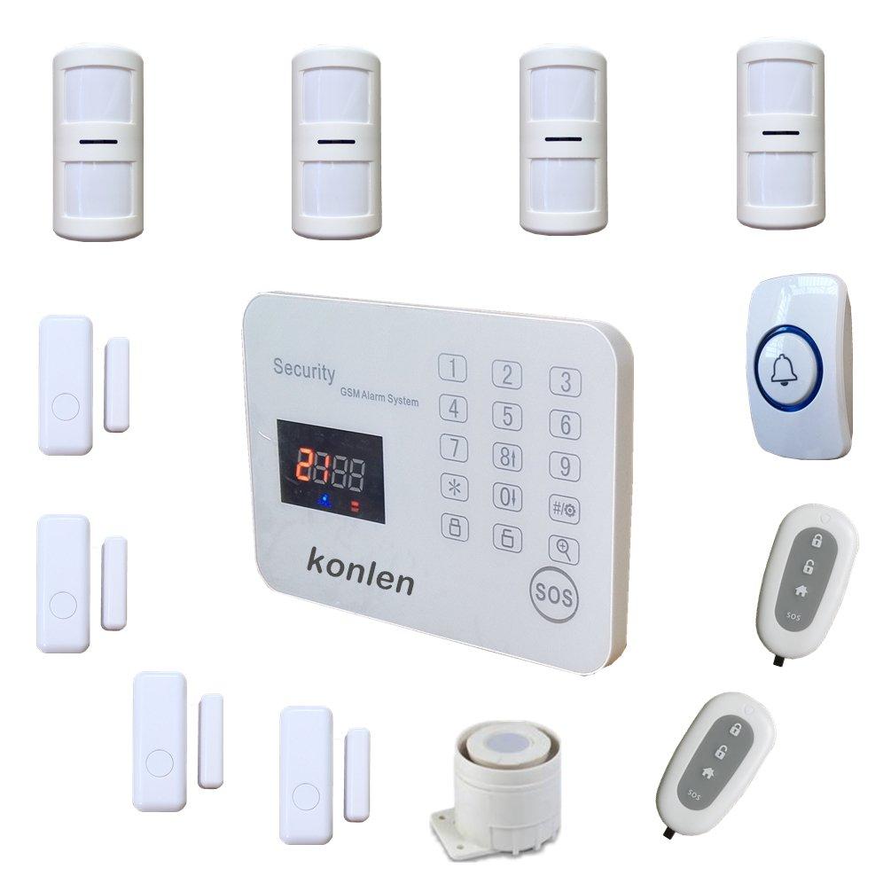 konlen LCD inteligente GSM sistema de alarma inalámbrica ...