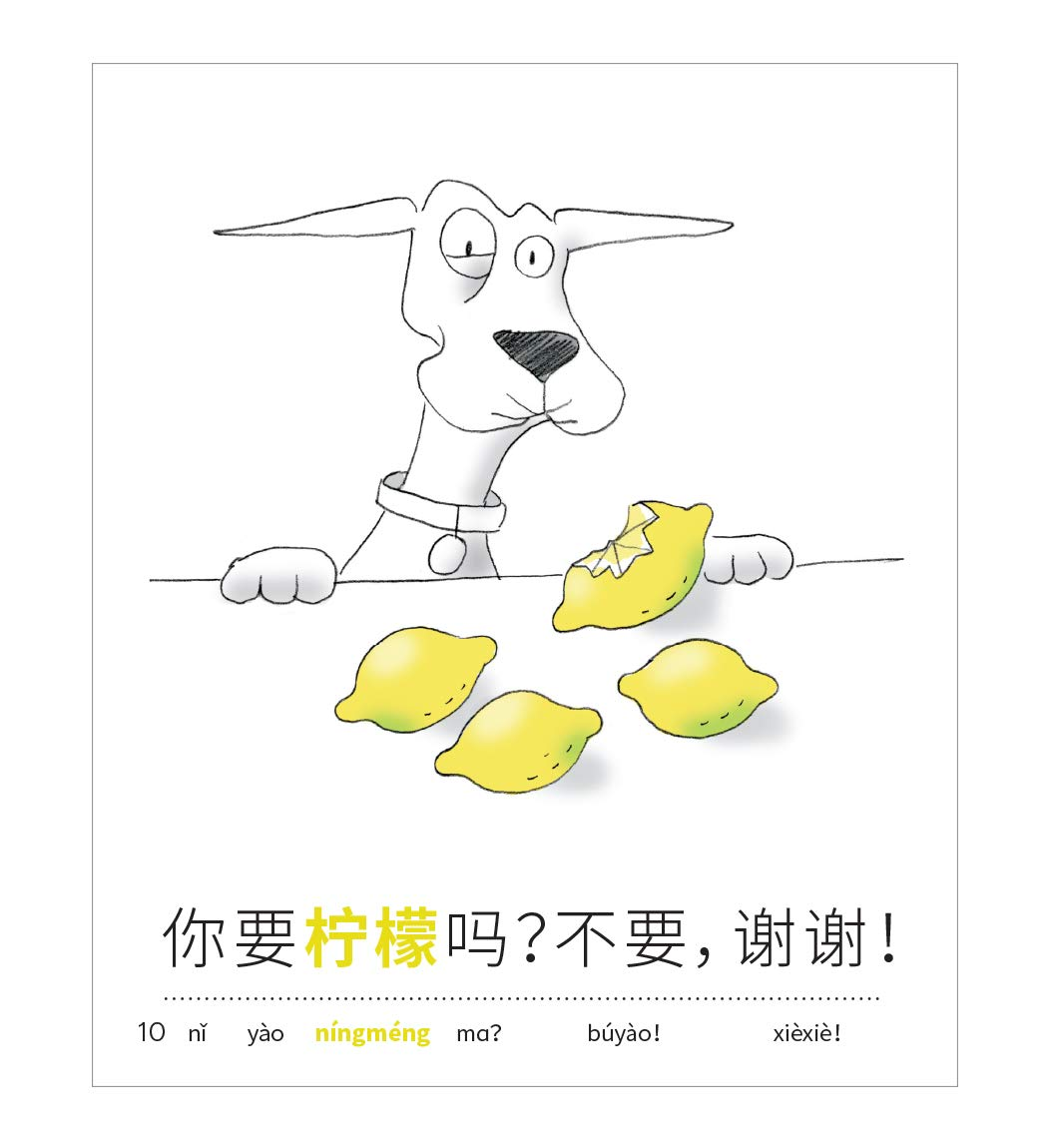 Chinese for Kids: 10 First Reader Books with Online Audio, Pinyin, Simplified Characters (Beginning to Learn Mandarin) Set 1 by Language Together by Language Together (Image #8)