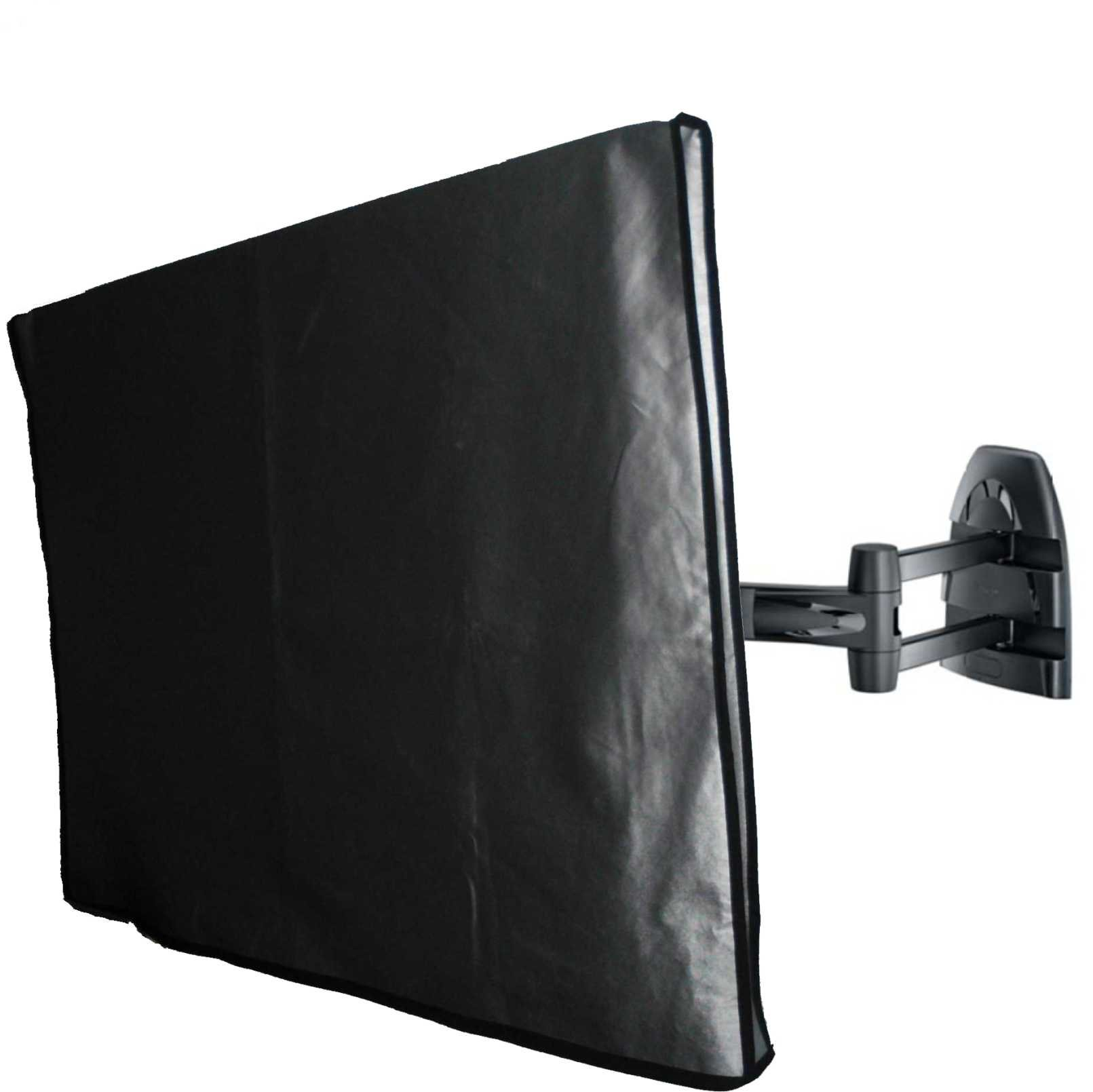 Marine Grade Nylon 32'' TV Dust Cover   (31.75'' wide x 3.75'' deep x 23'' high) Ideal for outdoor locations such as Restaurants, Hotels, Marinas or Poolside Locations. by Viziflex (Image #2)