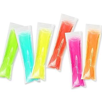 bestonzon bolsas hielo Popsicle con cierre molde a hielo ...