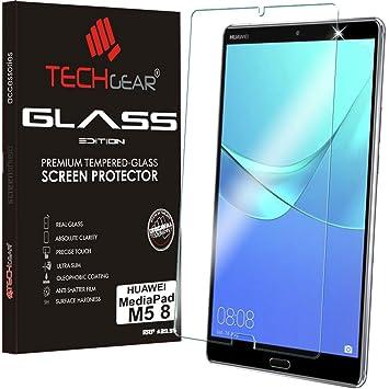 new style 482cc cd75c TECHGEAR GLASS Edition fits Huawei MediaPad M5 8 (8.4