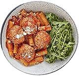 Amazon Meal Kits, Ricotta Meatballs with Rigatoni & Arugula, Serves 2