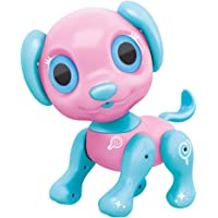 BIRANCO. Electronic Pets Dog Toy - Interactive Puppy Smart Robot Toys for Age 3 4 5 6 7 8 Year Old Girls | Gifts Idea for Kids (Pink)