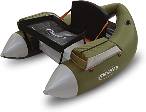Inflatable Pontoon Fishing Float Tubes [Outcast Fishcat] Picture