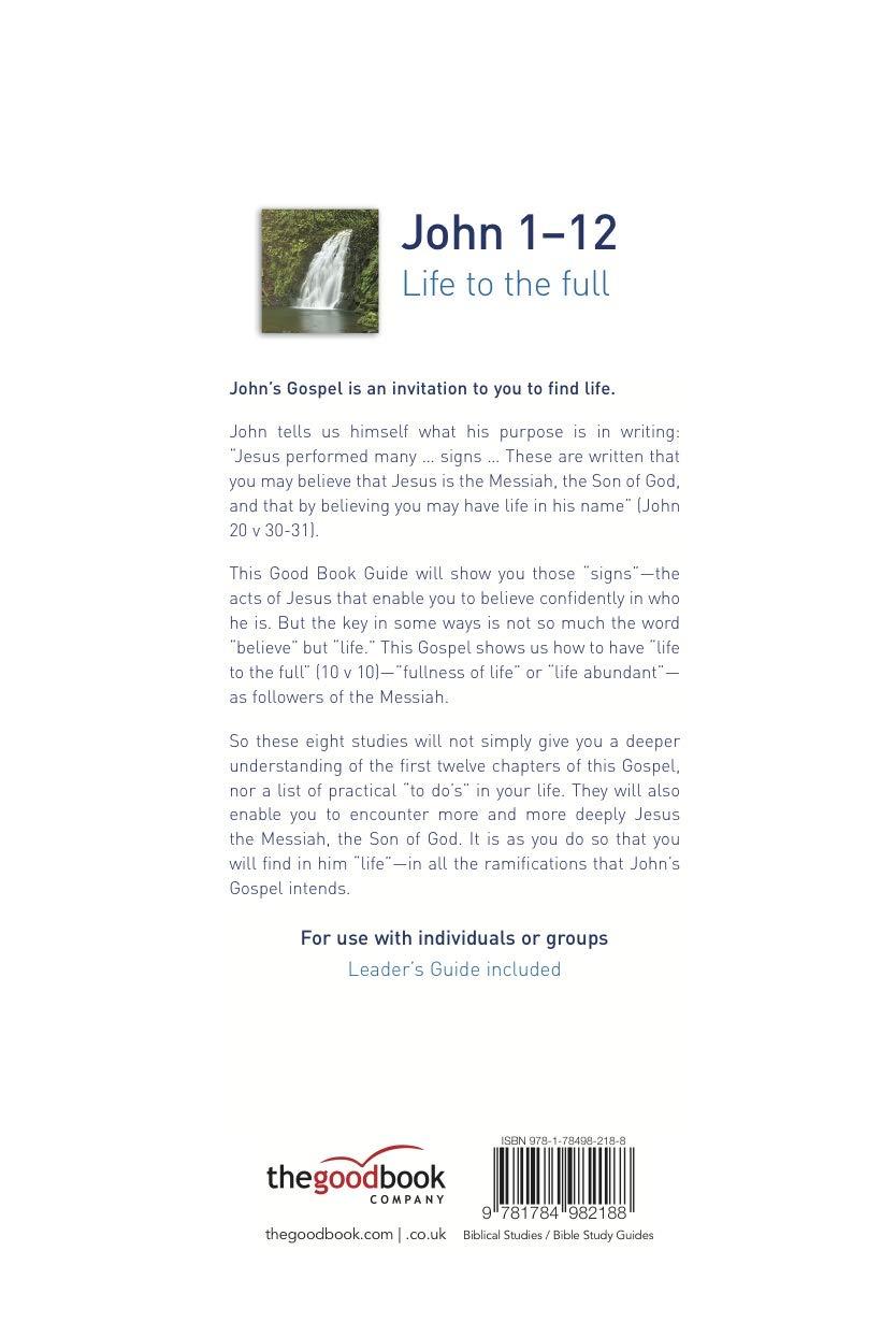John 1 bible study