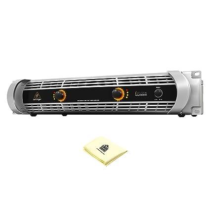 Amazon.com: Behringer INUKE NU1000 Ultraligero, amplificador ...