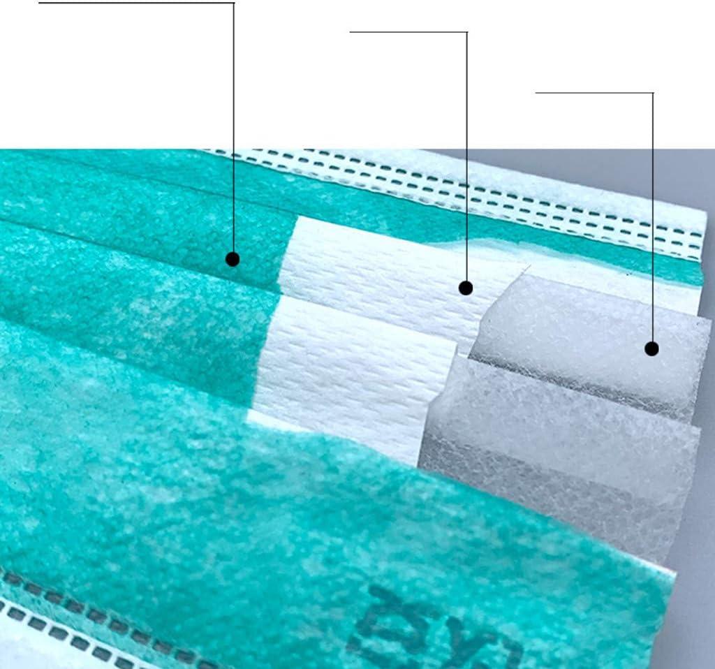 Blau Altsommer 50 PCS Unisex Baumwolle Gesichtsbandana 4-Lagig Gesichtsbandana Einheitsgr/ö/ße Hervorragend Gegen Sch/ädliche Luftpartikel Geeignet