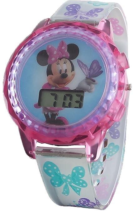 Disney Girl's Minnie Mouse Digital Light Up Watch MBT3727