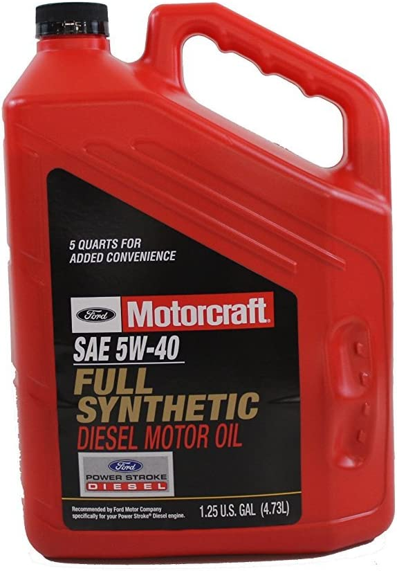 Motorcraft SAE 5W-40 Full Synthetic Diesel Motor Oil