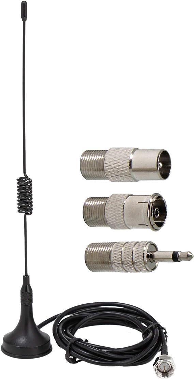 Ancable Antena estéreo FM con Base magnética de 75 ohmios ...