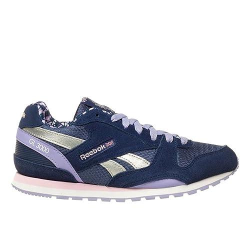 Reebok Crossfit - Reebok classicgl 3000 - Zapatillas - Blue/Lavender/Pink: Amazon.es: Zapatos y complementos