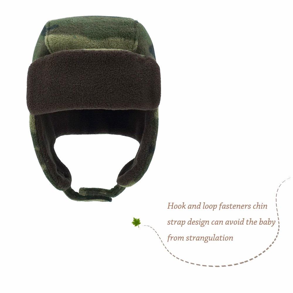 d9af60ff3303d Keepersheep Baby Boy Ushanka Earflap Winter Trooper Hat Cap