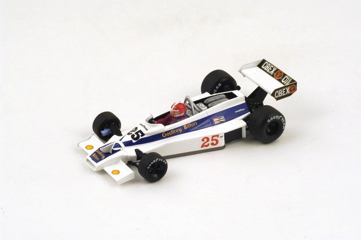 NEWES Spark Model S2236 Hesketh 308E I.Ashley 1977 N.25 17th US GP (Watkins Glen) 1:43