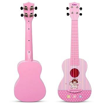 Beginner Classical Ukulele Guitar Educational Musical Instrument Kids Toys MR