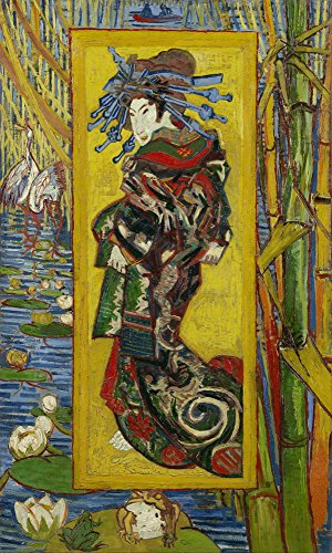 Vincent Van Gogh Giclee Canvas Print Paintings Poster Reproduction Courtesan  After Eisen