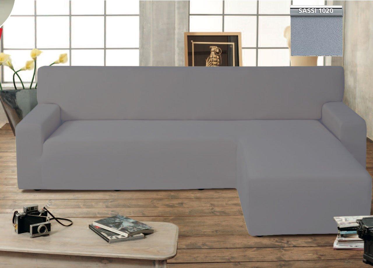 Copridivano per divano in pelle con chaise longue divano - Copridivano per divano in pelle ...