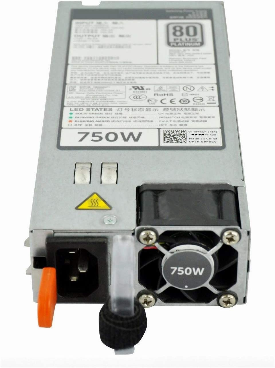 Dell-IMSourcing Power Supply - 750-Watt - for PowerEdge R620, T620 - 750 W