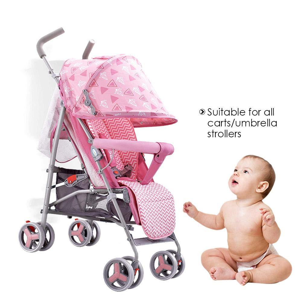 Buggy Baby Sitzauflage Universal Kinderwagen Atmungsaktive Sitzeinlage f/ür Kinderwagen Kindersitz und Babyschale