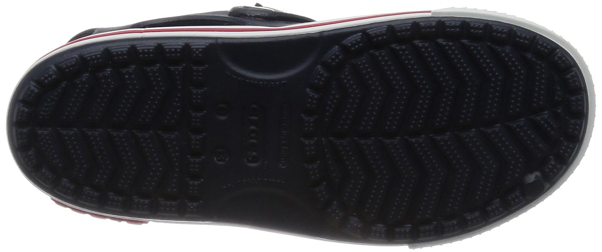 Crocs Kid's Boys and Girls Crocband II Sandal | Pre School, Navy/White, 5 M US Toddler by Crocs (Image #3)