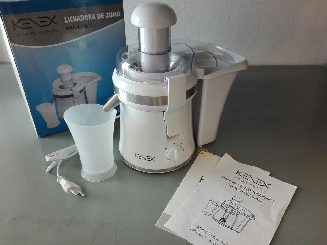 Stop Shop Kenex Extractor de zumo 0,3 l de acero inoxidable color ...