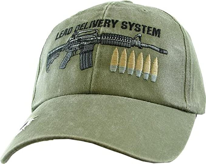 Image Unavailable. Image not available for. Color  Lead Delivery System Embroidered  OD Military Baseball Cap bc755e35874e