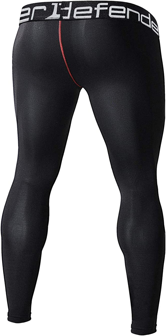 Defender Mens Thermal Wintergear Compression Baselayer Pants Leggings Tights