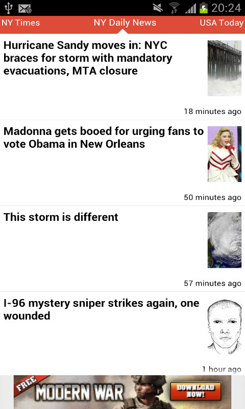 Amazon.com: Fast News: Appstore for Android