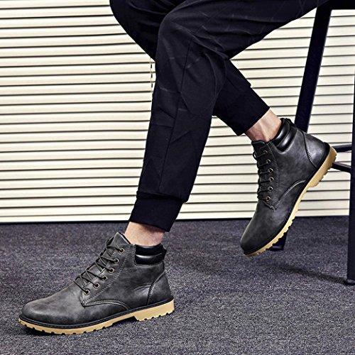Scarpe Black invernale cuoio caviglia caviglia basse alla ToBeno alla in pzZxSnp