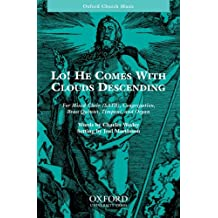 Lo, He comes with clouds descending: Vocal score
