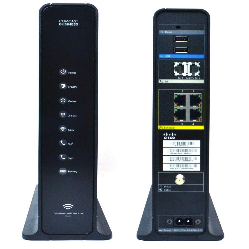 Cisco DPC3941-T DOCSIS 3 0 24x4 Wireless Residential Voice Gateway MoCA 2 0  Compliant 802 11b/g/n/ac