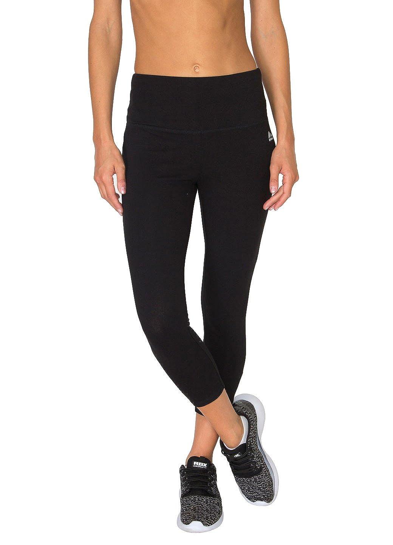 7d6df6d321 RBX Active Women's Cotton Spandex Tummy Control Capri Workout Legging at  Amazon Women's Clothing store: