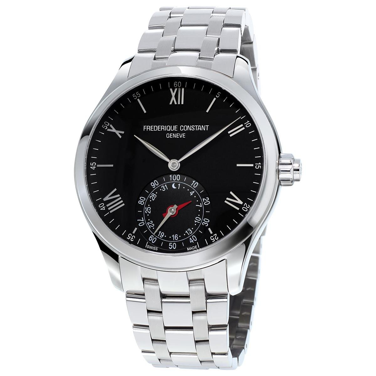Frederique Constant Geneve Horological Smartwatch FC-285B5B6B Clà ...