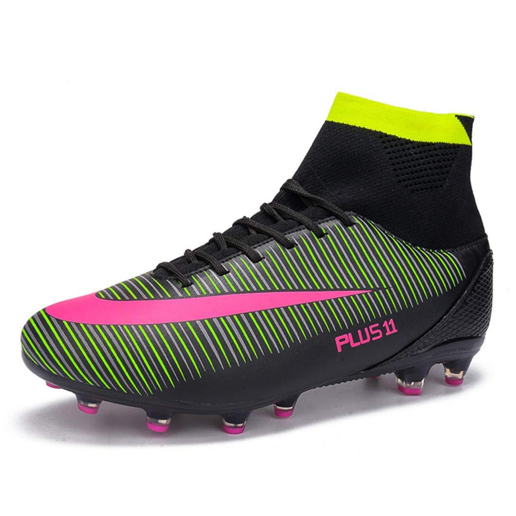 MAXTOP Zapatos de fútbol Hombre FG Spike Botas de fútbol de Caucho para  Hombre Adulto Zapatos 31fc7c459301e