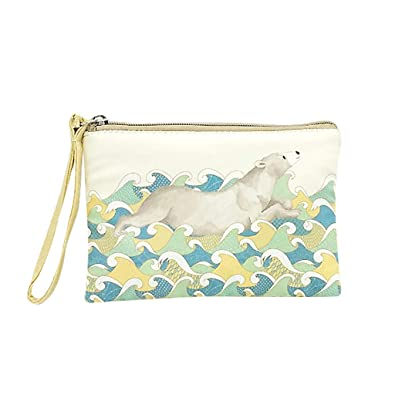 Amazon com: Clutch Bag Evening,Cute Canvas Cash Coin Purse Make Up