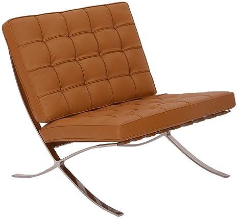 Amazon.com: Modern Souces - Pavilion Barcelona Style Chair ...