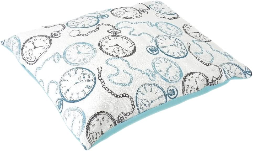 100 x 70 cm Croci Pillow Vanity Clocks