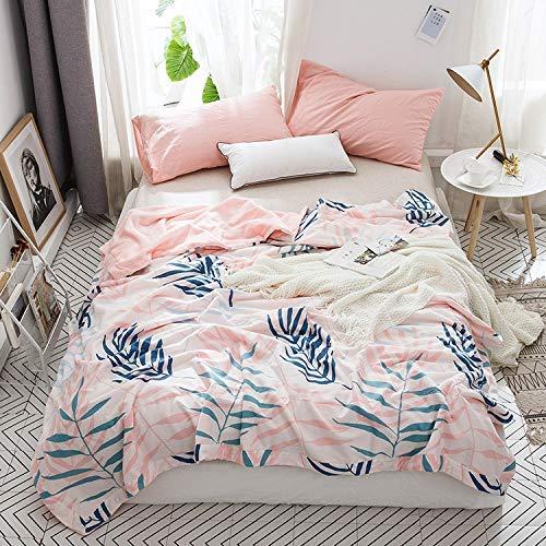 Mabmeiyang コットンレジャー毛布A綿Bベルベットの四季のソファー毛布昼休み毛布エアコンは夏だった夏だった卸売りでした (サイズ : 200*230cm) B07S16746Z  200*230cm