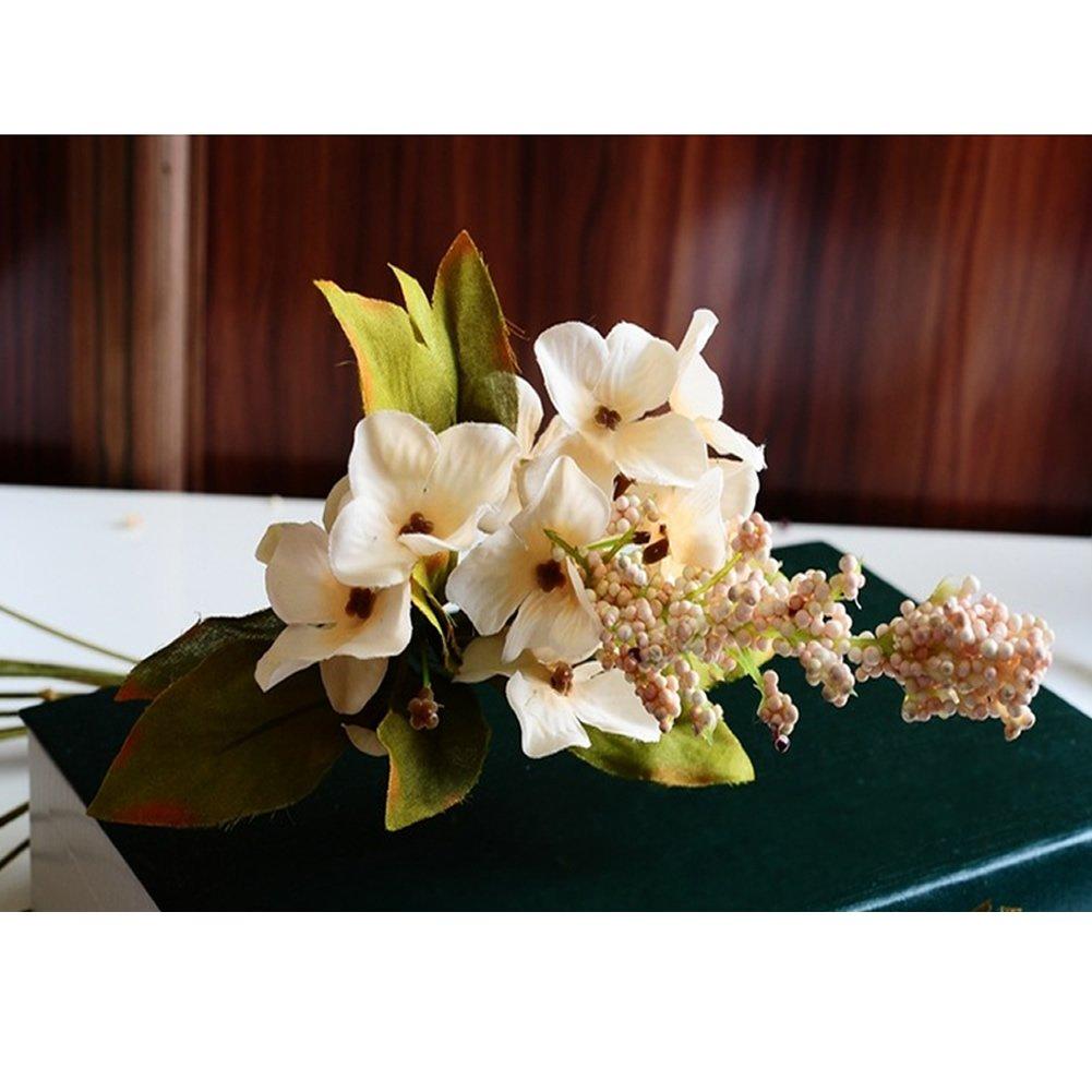 Amazon Mexud Artificial Bouquet 10 Head Peony Silk Flower Fake