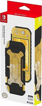 HORI - Carcasa híbrida negra (Nintendo Switch Lite): Amazon.es ...