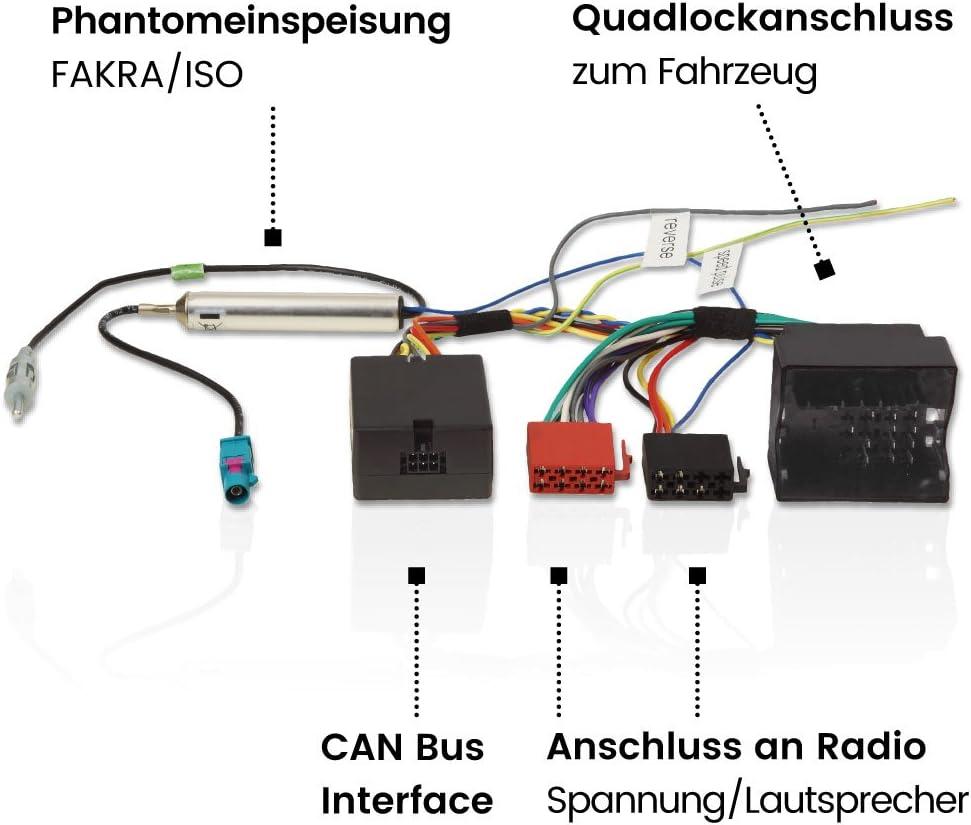 Vw Can Bus Adapter Radioadapter Und Interface Zur Elektronik