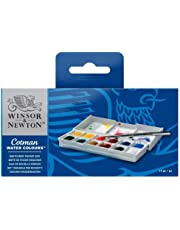 (Sketchers Pocket Box) - Winsor & Newton - Cotman Water Colour 12 Half Pan Sketchers' Pocket Box