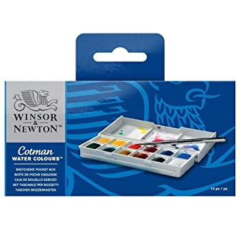 Winsor & Newton 14 Colors Watercolor Paint