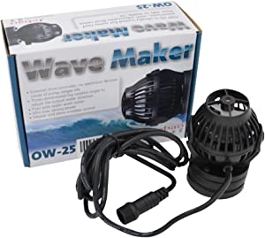 Jebao OW Wave Maker with Wireless Controller and Magnet Mount for Marine Reef Aquarium Fish Tank