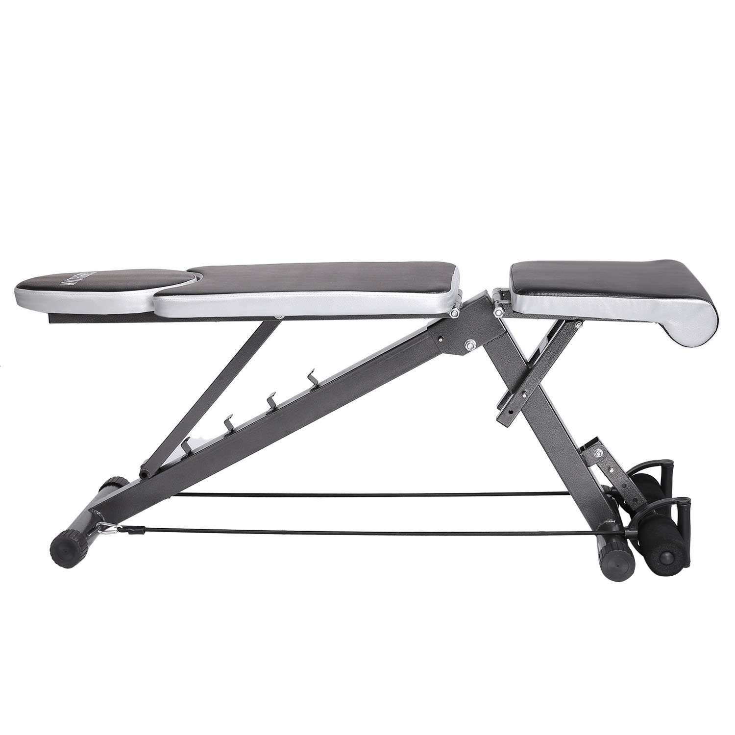 Amazoncom Weight Bench Sit Up Bench  Ancheer Adjustablel Exercise